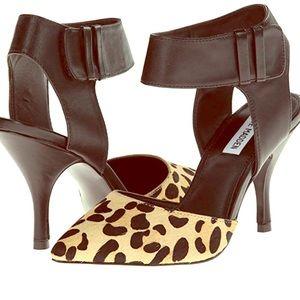Steve Madden Leopard  Dress Pumps